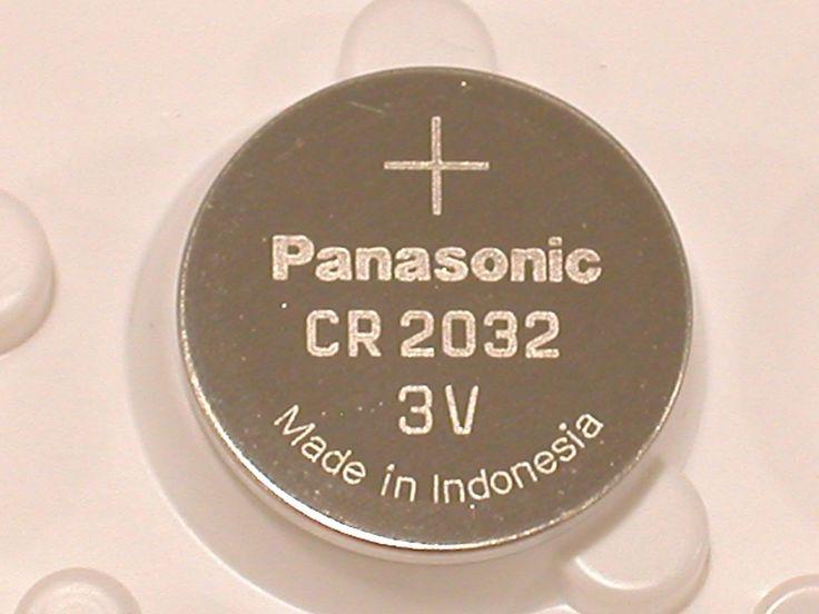 4 pc BULK PANASONIC CR2032 cr 2032 ECR2032 3v Battery EXPIRE 2025