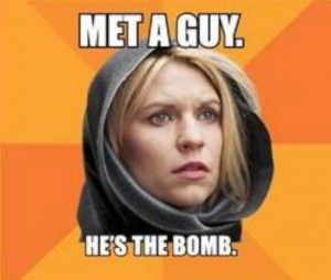 funny Homeland meme Carrie Mathison-W630