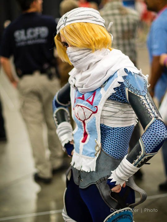 Awesome Sheik Cosplay