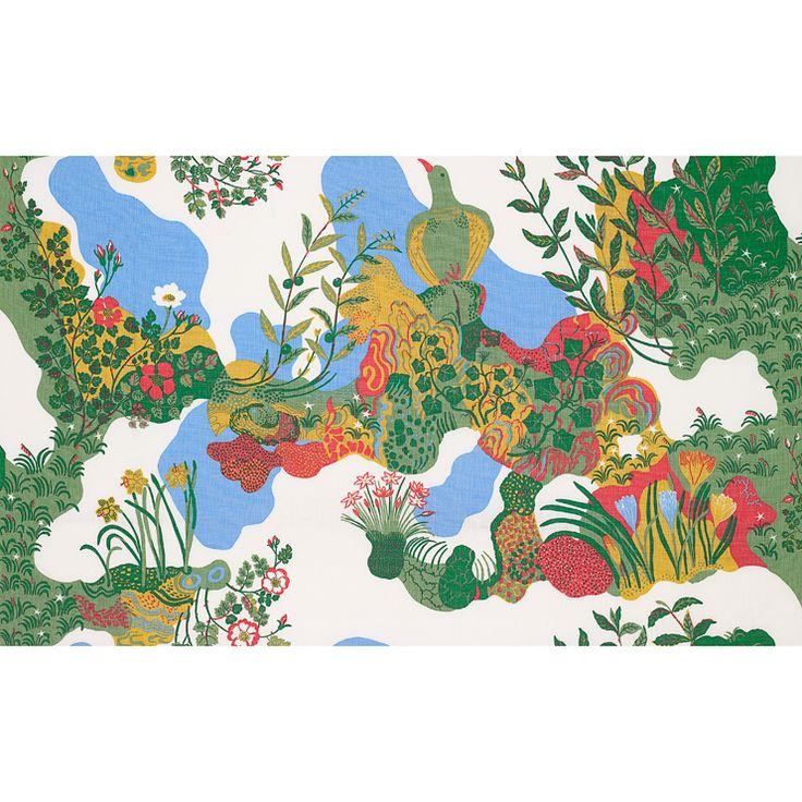 Textil Anakreon Bomull | Svenskt Tenn
