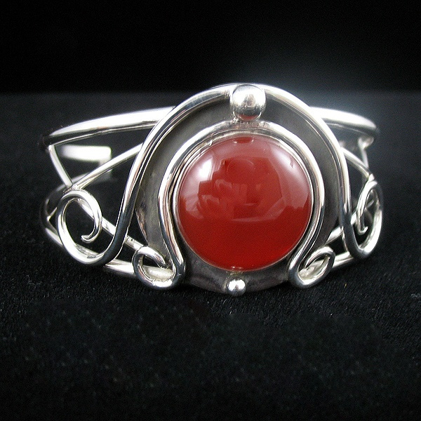Carnelian Witchblade the Television Show Inspired Bracelet Cuff