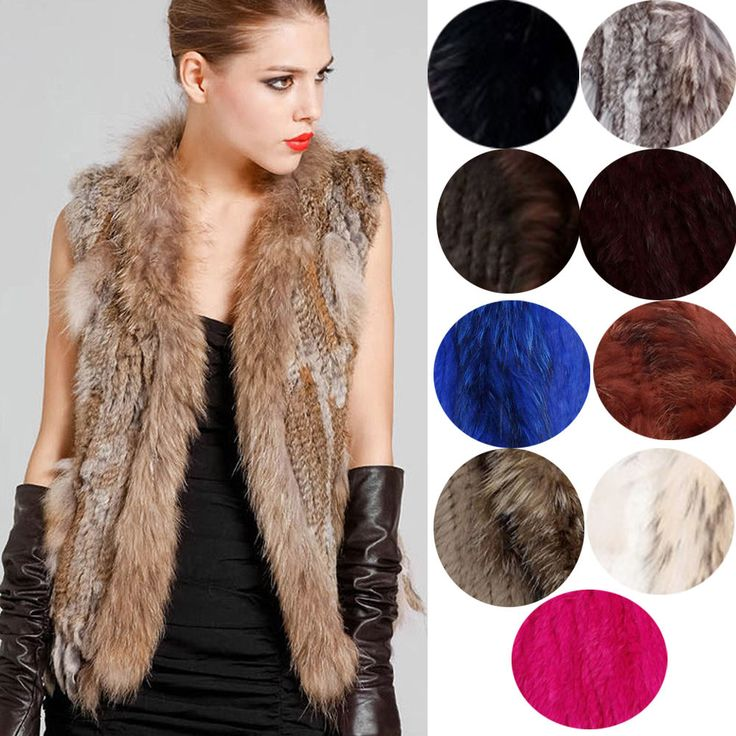 7 best images about I love fur on Pinterest | Coats, Vests and ...