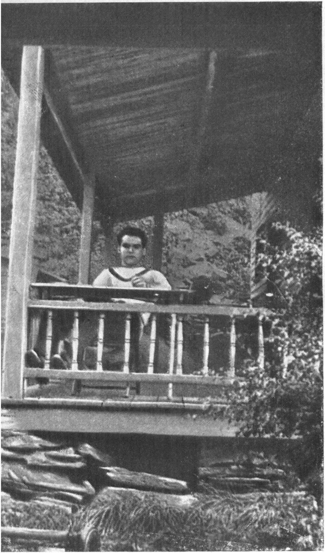Гарсиа Лорка на ферме в Эден Миллсе (штат Вермонт, США)