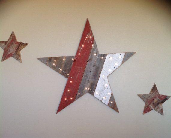 Wooden Star Wall Decor 23 best wall decor images on pinterest | wall decor, pallet ideas