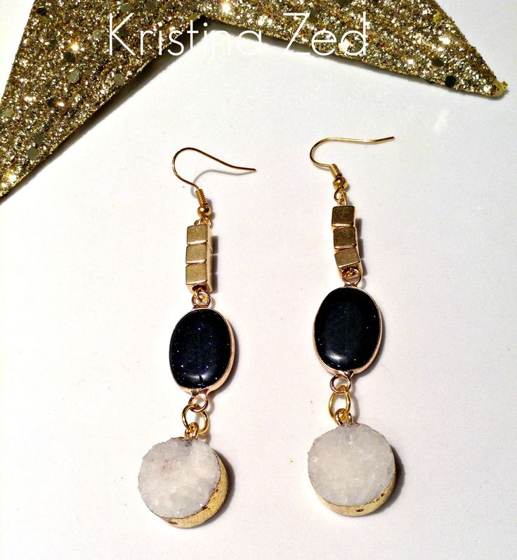 MY HANDMADE JEWELS=AMAZING AGATE EARINGS!!!