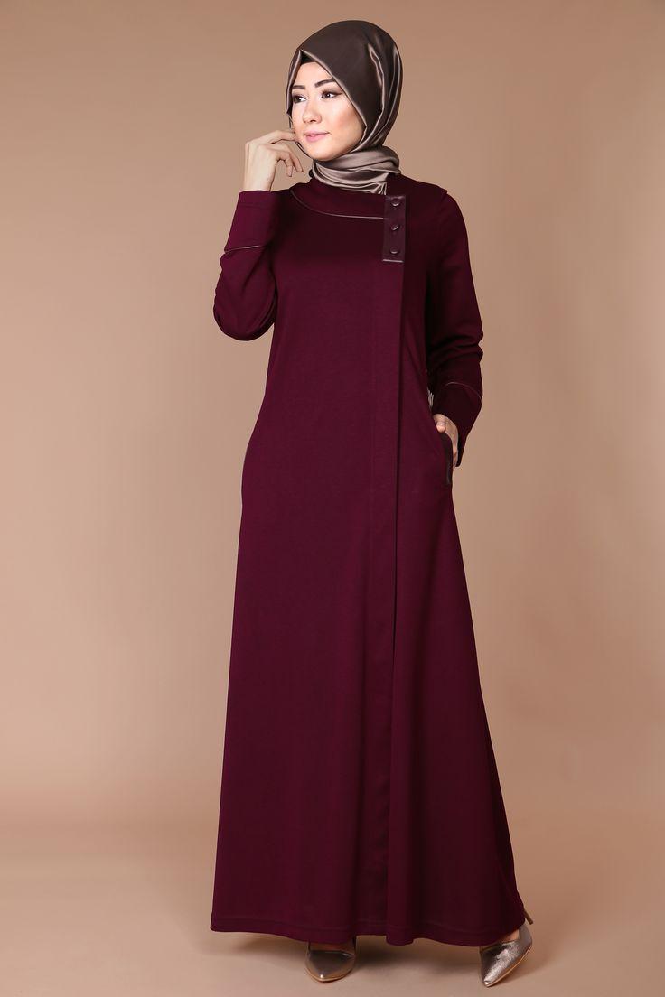 Yandan Deri Detay Ferace 99.90 TL #modaselvim # tesettur #tesetturgiyim #yenisezontesettur #tesetturmoda #ferace #abaya ##hijab #jilbab #hijabfashion #hijabstyle #fashion #dress #pardesü #cocktaildress