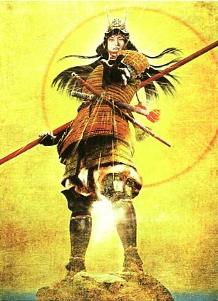 Chousokabe Motochika (japanese military commander, samurai). illustration by Kimiya Masago.
