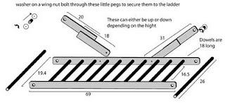 Building A Brachiation Ladder Aka Monkey Bars To Use In Your - Build monkey bars ladder