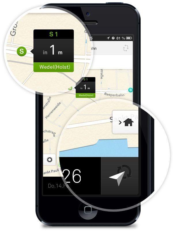 nextr app . public transportation guidance