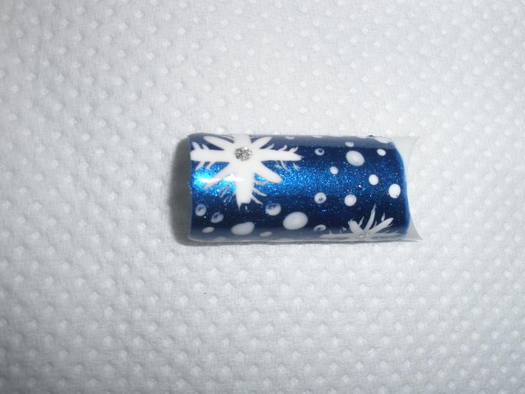 Χριστουγεννιάτικο σχέδιο για manicure_No3
