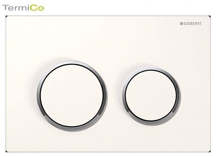 Geberit Omega 20 przycisk biały/chrom bł/bialy 115.085.KJ.1