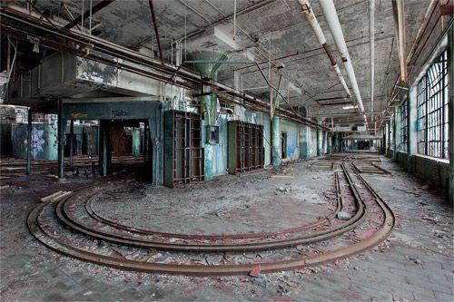 Abandonned places exploration urbaine d'une usine
