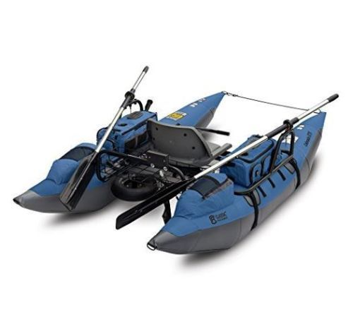 New accessories colorado xts fishing inflatable pontoon for Fly fishing pontoon