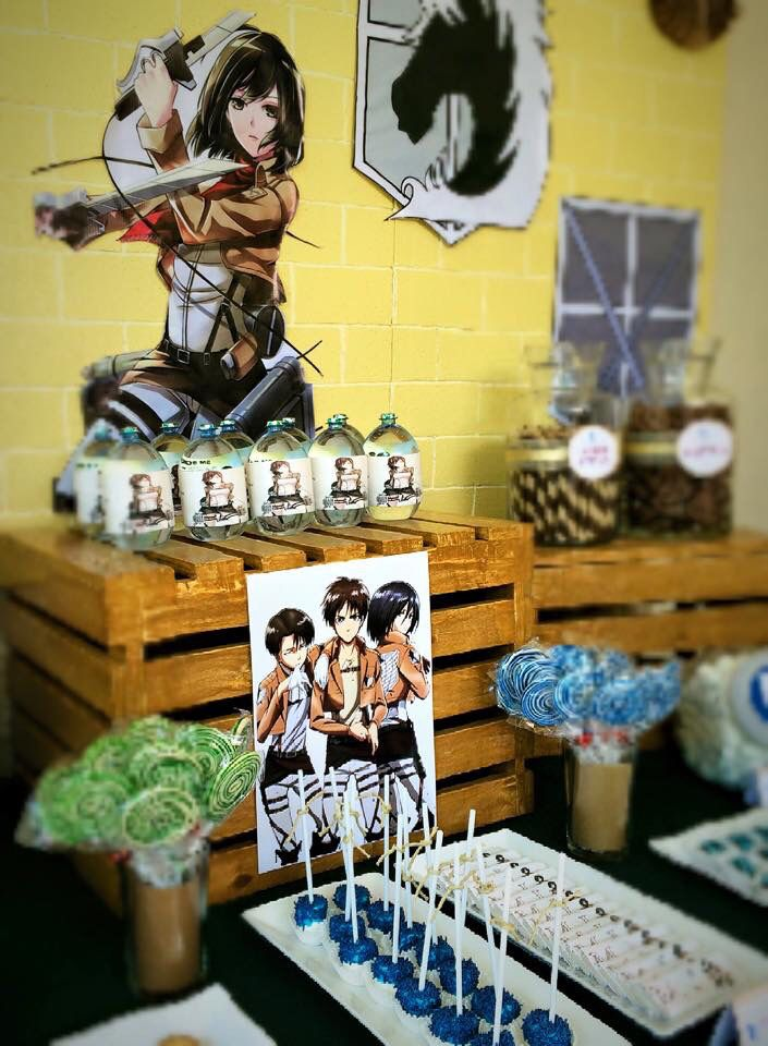 Attack on titan party ideas