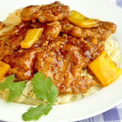 Crispy Honey Orange Pork Medallions - Rock Recipes -The Best Food & Photos from my St. John's, Newfoundland Kitchen.