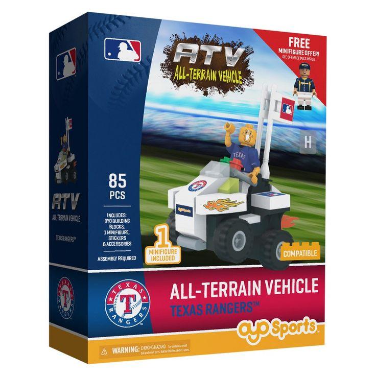 MLB Texas Rangers Oyo Atv Toy Vehicle - 85pcs