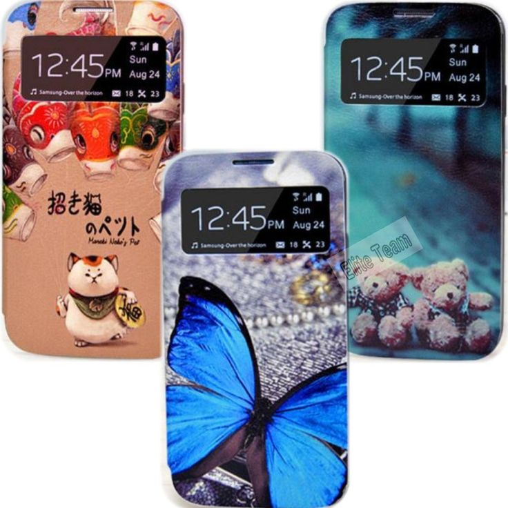 S4 Multiple Color Painting Case For Samsung Galaxy S4 SIV i9500 For GalaxyS4 Cases Phone Shell Leather Flip Cover Hot Sale! Best