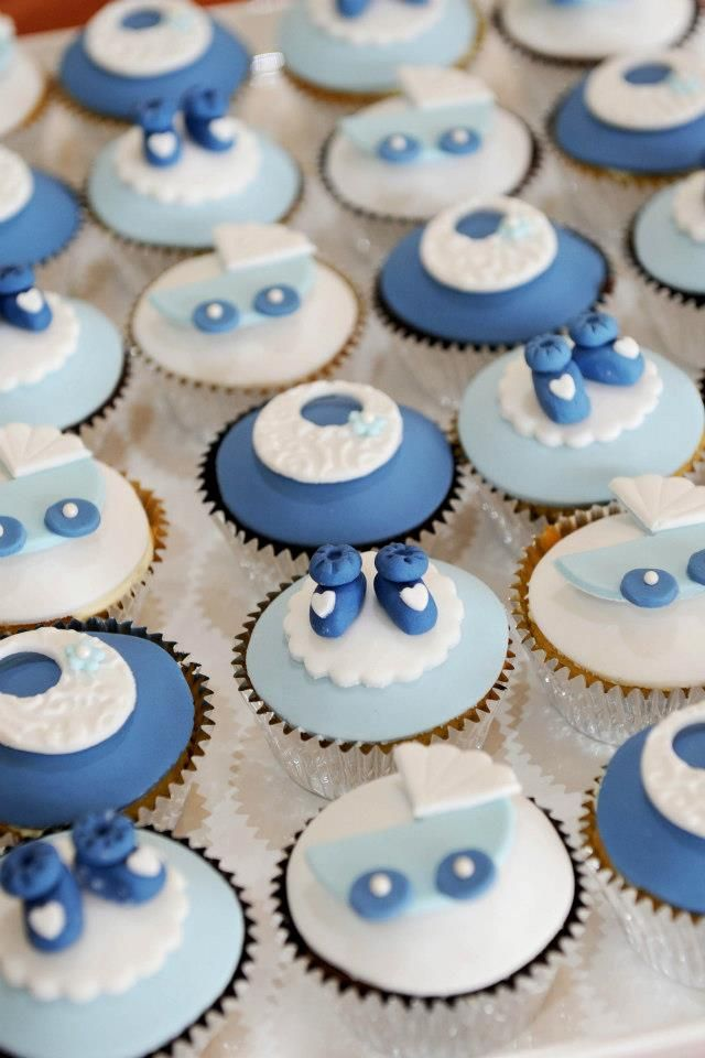 Baby Shower Cupcake Icing Ideas : 1000+ images about Baby Shower Cupcakes on Pinterest ...