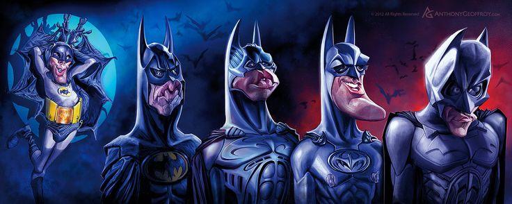 Batman Chronology by Anthony Geofffrey