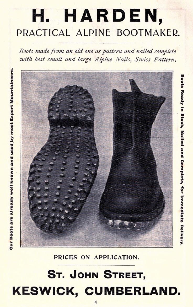 A practical alpine bootmaker.