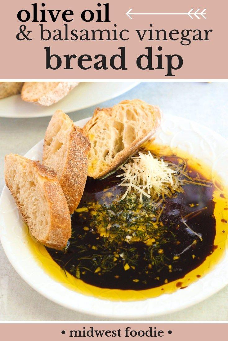 Olive Oil Balsamic Vinegar Bread Dip