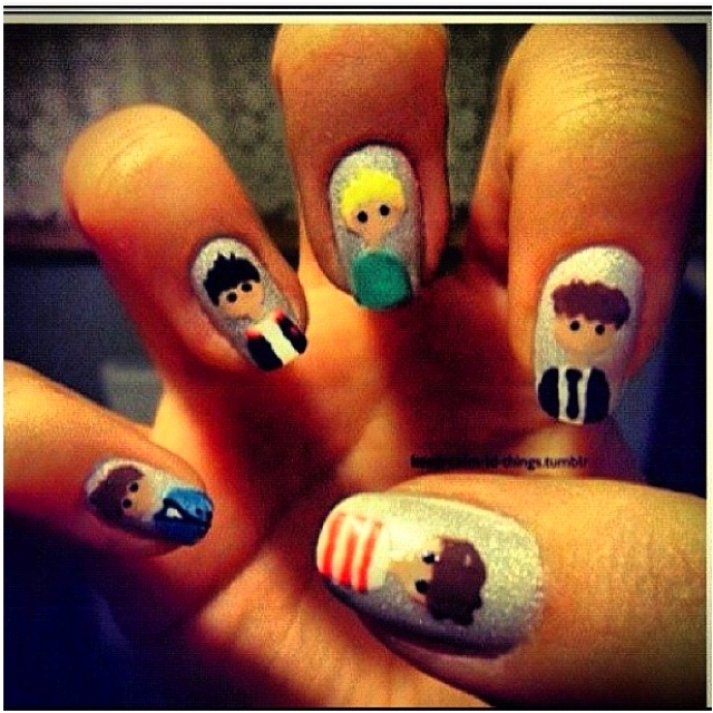 one direction nails❤