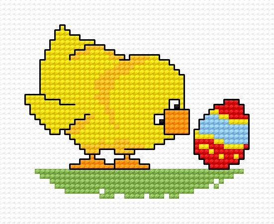 Easter chick.