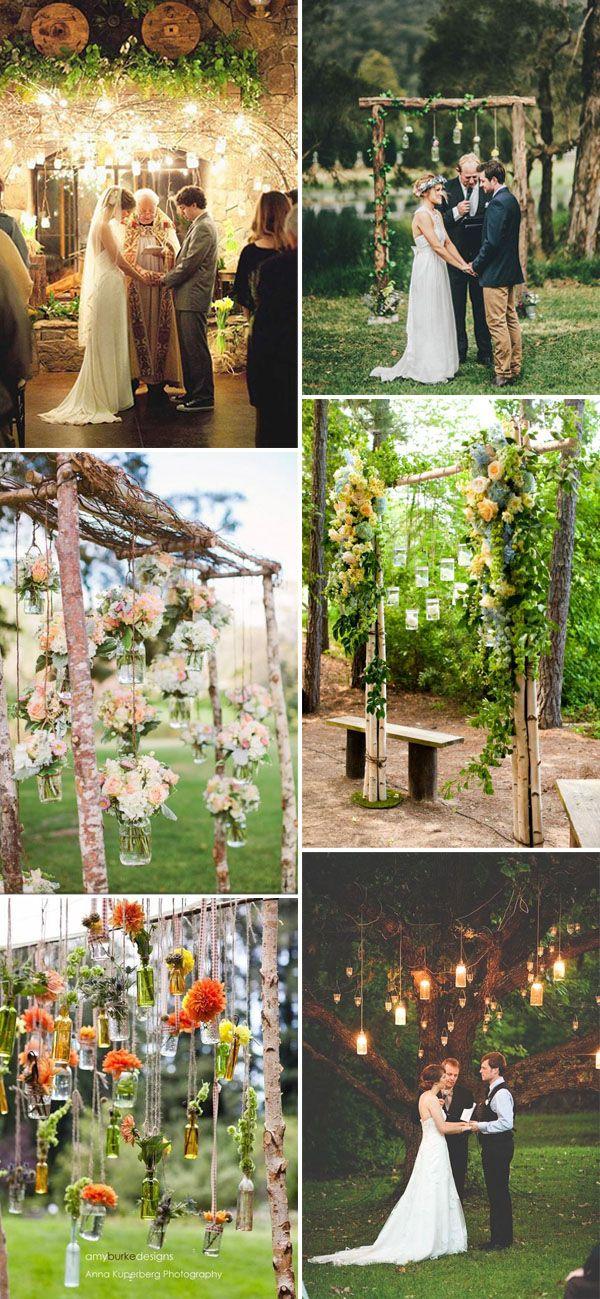 mason jar rustic wedding favor ideas