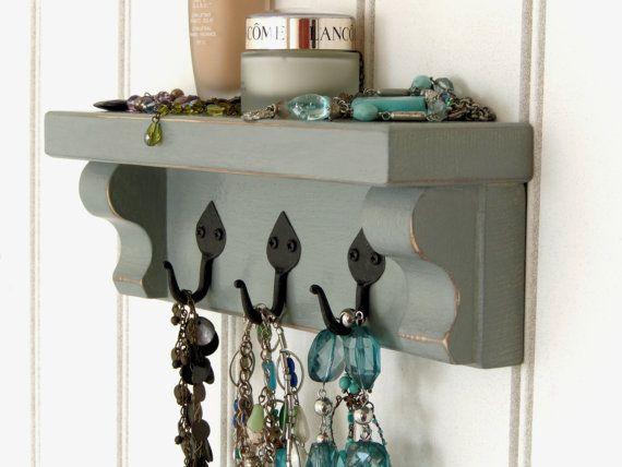 Awesome Shelf with Hooks for Mugs