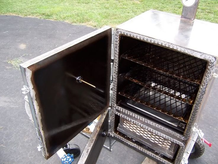 Plans To Build A Reverse Flow Smoker