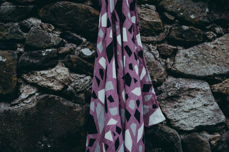 Textile design by Magdalena Tekieli for Coodo www.magdalena.tekieli.pl Pic. Anita Suchocka 2017