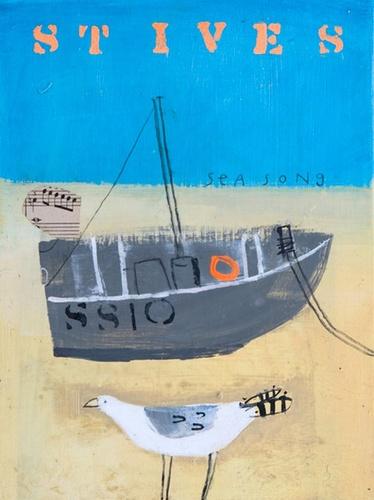 St Ives - Sea Song by Elaine Pamphilon
