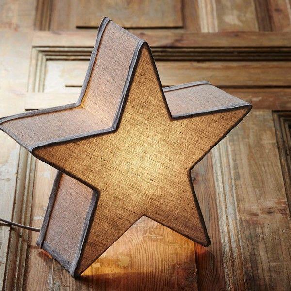 Étoile lumineuse à poser de Markslöjd  http://www.homelisty.com/deco-de-noel-2016-101-idees-pour-la-decoration-de-noel/