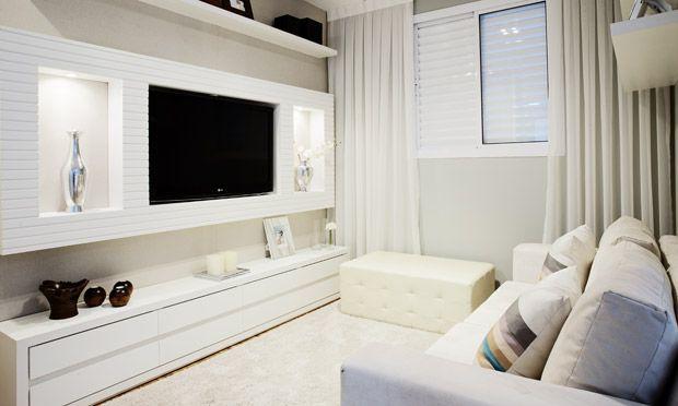 Aprenda a montar a decoração da sua sala de televisão. Você terá um home theater incrível. Vem ver!