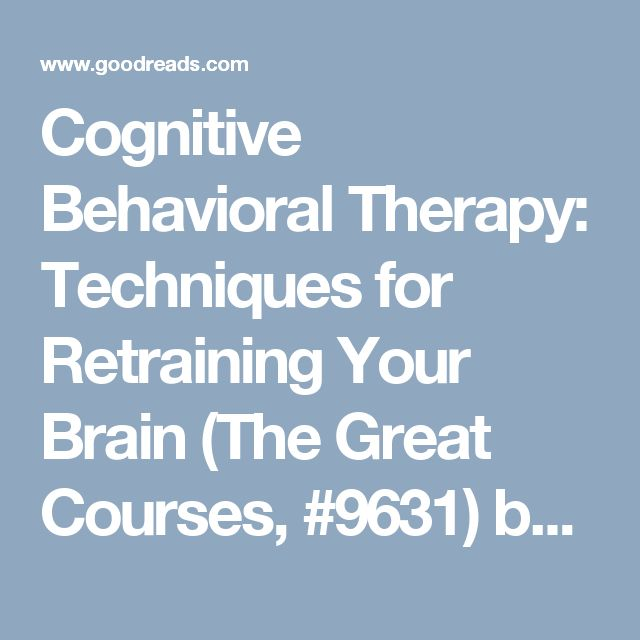 cognitive behavioral therapy techniques - 640×640