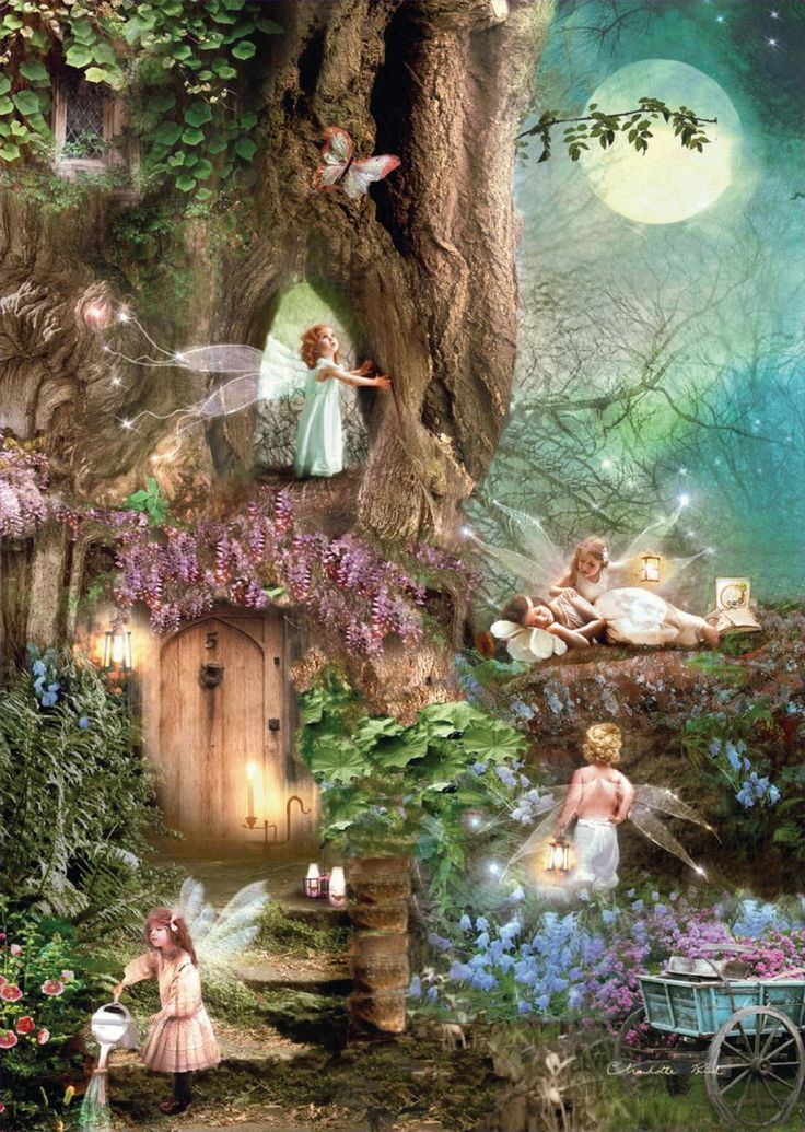 Moonrise Faerie Village | Faeries & Mystical Creatures ...