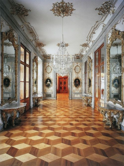Schloss Hetzendorf, Vienna. My father's father's family is Viennese so I'm partial.