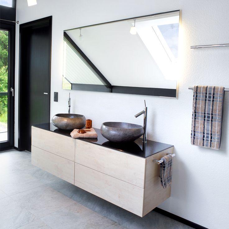 Die besten 25+ Bad Doppelwaschtisch Ideen auf Pinterest Doppel - moderne badezimmermbel
