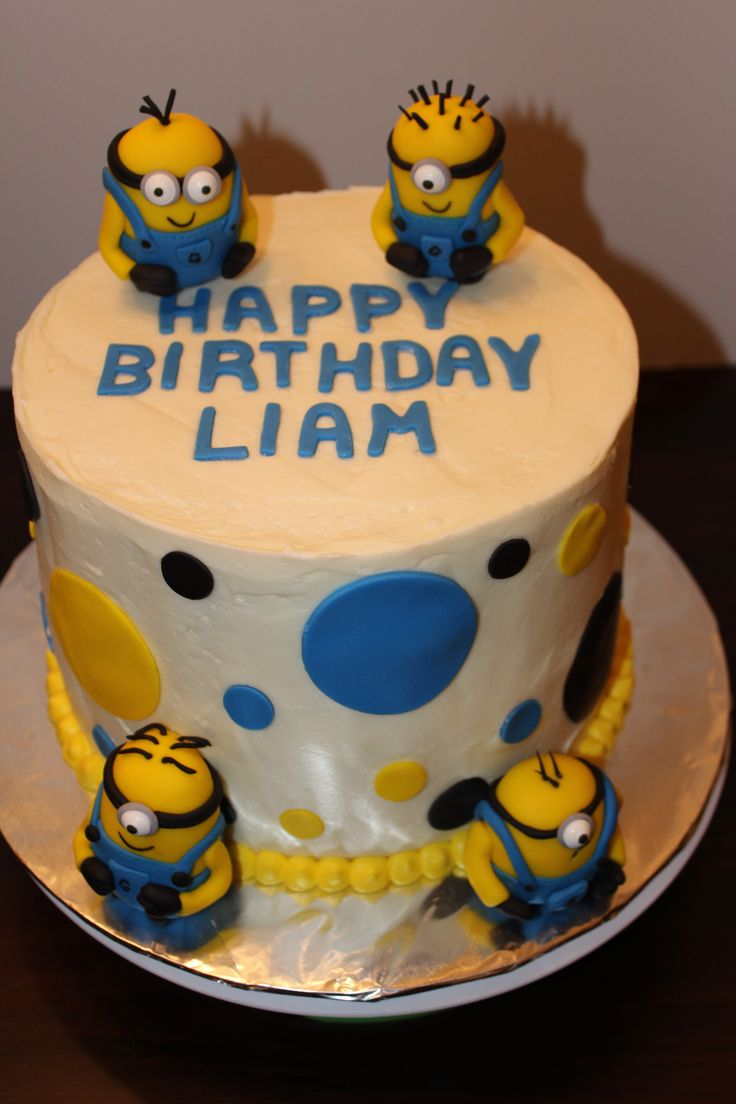 80 best pastel minions images on Pinterest Minion party Cake