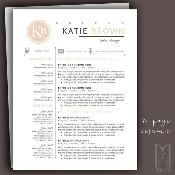 30 best Modern \ Creative RESUME TEMPLATES - fonts to use on resume