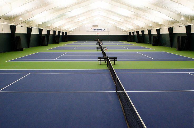 Indoor Tennis Courts Tennis court backyard, Tennis court
