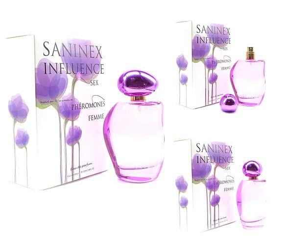 Saninex eau de parfum pheromones.  Aphrodisiac power   Una línea de perfumes de alta calidad, inspirada en natural pheromones. Unión de las poderosas esencias de atracción, fusionadas con la elegancia y el erotismo que marcan tu propio estilo, de manera   impactante, contemporánea, lujosa en cada momento de tu vida.                                            SANINEX    www.saninex.com