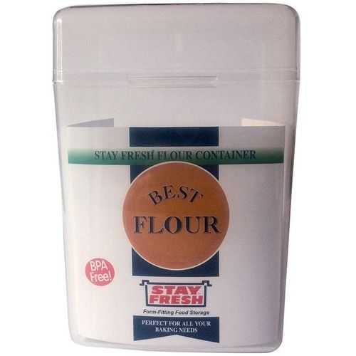 Stay Fresh 7054 Flour Container, 5 Lbs, Clear