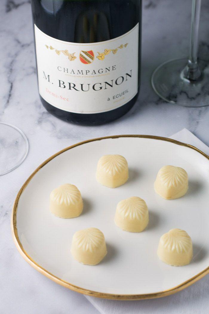 Champagne trøfler fra Bageglad.dk