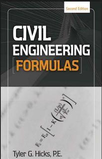 Civil Engineering Formulas By G.Hicks Free Pdf Download - 7see