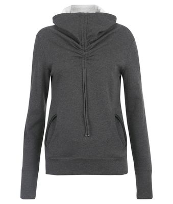 Wellicious Star jumper - $199.95 - Get cosy and snuggle up in the Star Jumper. Featuring rounded pockets with binding and drawstring in the collar ending over the chest.  You can't get a more comfortable and soft sweater, you will love putting this on to warm up!  #fireandshine #yoga #fashion #ethical #activewear #loungewear #wellicious #black