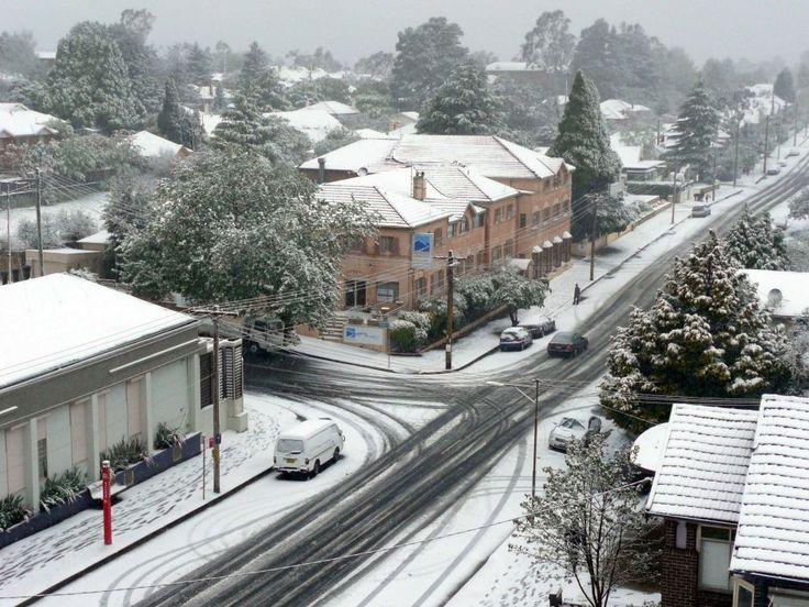 Snow in katoomba - Google Search