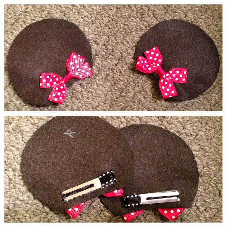 DIY Minnie ears