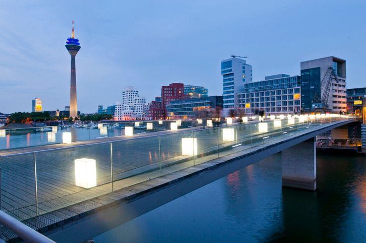 Medienhafen, Düsseldorf, Deutschland