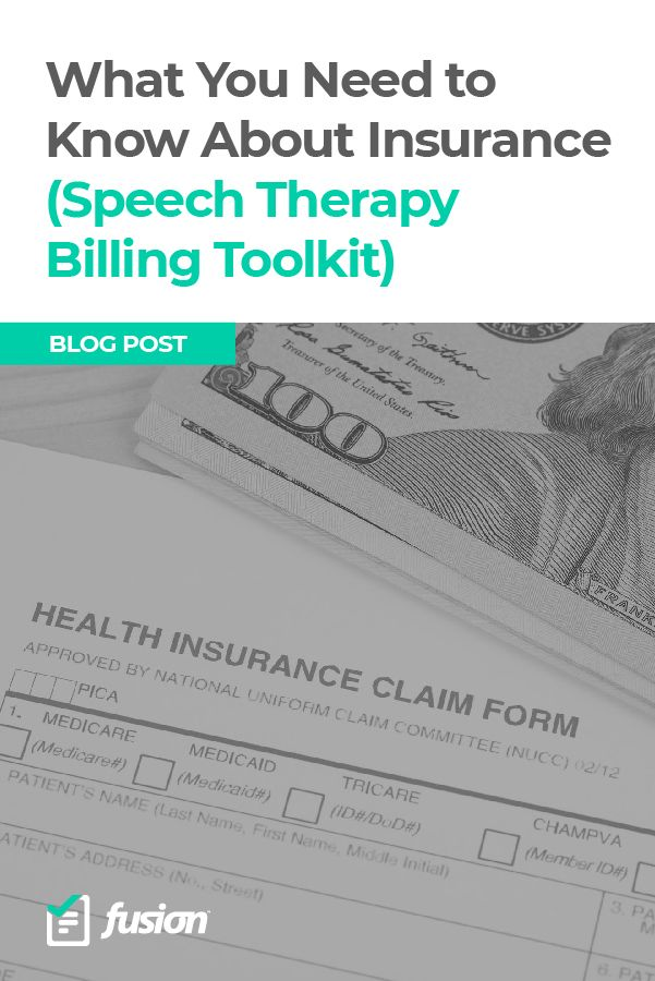 Billing Insurance For Speech Therapy Can Be Complicated At First